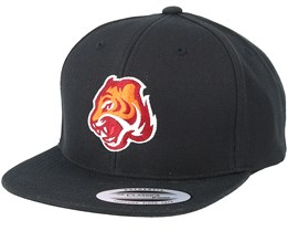 Kids Tiger Black Snapback - Kiddo Cap
