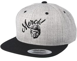 Merci Grey/Black Snapback - Forza
