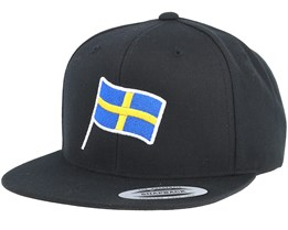 Sweden Flag Black Snapback - Forza