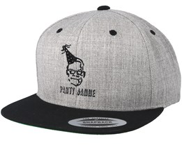 Party Janne Grey/Black Snapback - Forza
