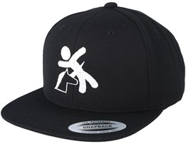 Unicorn Black Snapback - Iconic
