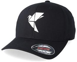 Logo Black Flexfit - Origami