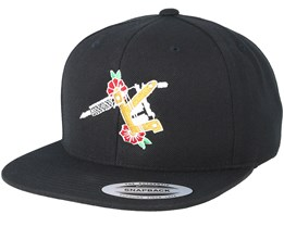 Dream Machine Black Snapback - Tattoo Collective