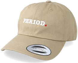 Clean Typo Khaki Dad Hat - Period