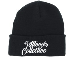 Logo Black Beanie - Tattoo Collective