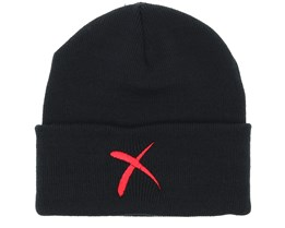 Cross Black Beanie - Iconic