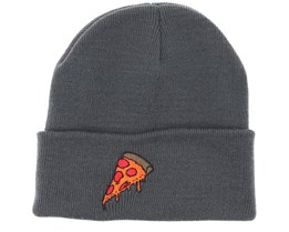 Pizza Time Graphite Grey Beanie - Boom