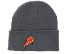 1b8164dc02a Pizza Time Graphite Grey Beanie - Boom