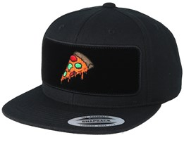 Pizza Time BP Black Snapback - BOOM