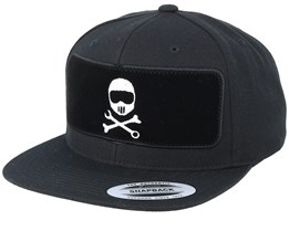 Helmbones BP Black Snapback - Born To Ride