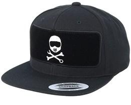 Helmbones BP Black Snapback - Born To Ride