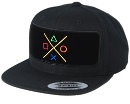 Buttons BP Black Snapback - Gamerz