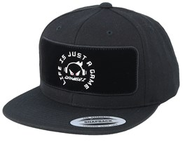 Life Is Just A Game BP Black Snapback - Gamerz