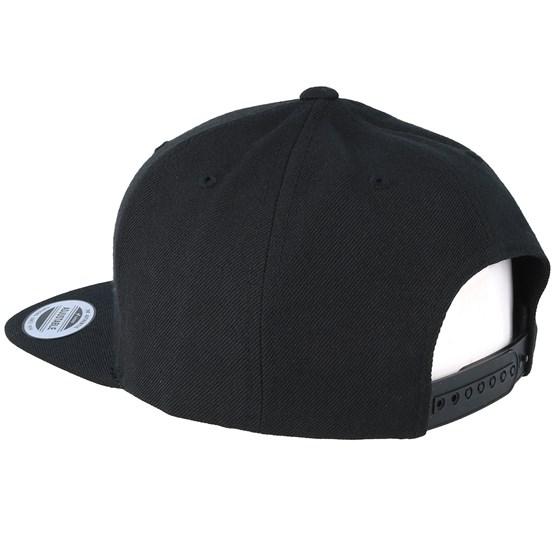 6390785db Kids Mandala T-Rex Black Snapback - Kiddo Cap