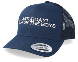 Saturday  Its For The Boys Navy Trucker - Iconic