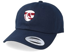 Horse Logo Navy Dad Cap - Iconic