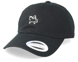 Little Unicorn Black Dad Cap - Unicorns