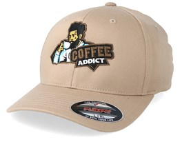 Coffee Lover Khaki Flexfit - Iconic