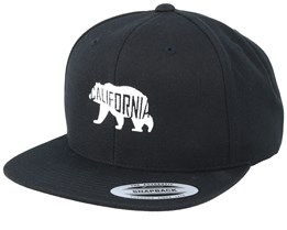 California Bear Black Snapback - Iconic