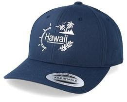 Hawaii Landscape Navy Adjustable - Iconic