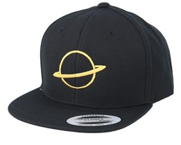 Kids Planet Black Snapback - Kiddo Cap