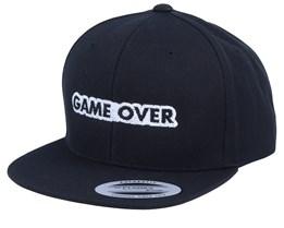 Kids Game Over Black Snapback - Kiddo Cap
