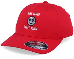 Kids Make Pluto Great Again Red Flexfit - Kiddo Cap