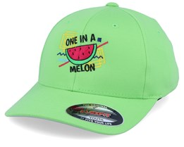 Kids One In A Melon Fresh Green Flexfit - Kiddo Cap