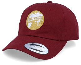 BacPakr Maroon Dad Cap Adjustable - Bacpakr