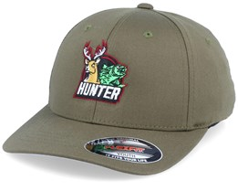 Kids Hunter Olive Flexfit - Hunter