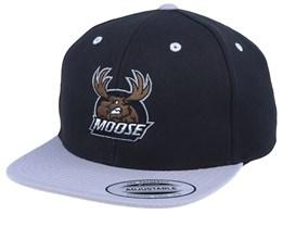 Kids Moose Black/Grey Snapback - Hunter