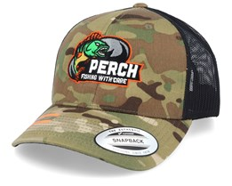 Perch Multicamo Trucker - Hunter