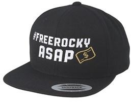 Free Rocky Asap Black Snapback - Iconic