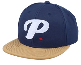 Period P Blank Suede Navy Snapback - Period