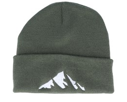 Kids Mountain Olive Beanie - Kiddo Cap