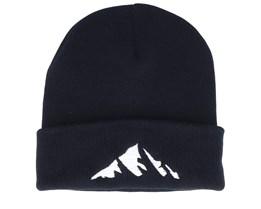 Mountain Black Beanie - Iconic