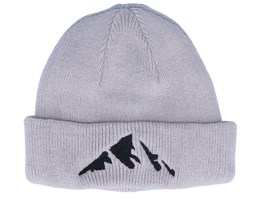 Kids Mountain Infant Grey Beanie - Kiddo Cap