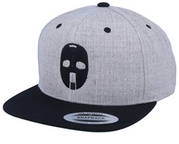 Hockey Mask 59 Heather Grey/Black Snapback - Forza