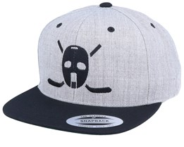 59 Hockey Logo Heather Grey/Black Snapback - Forza