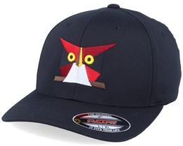 Paper Owl Black Flexfit - Origami