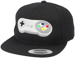 Super Game Pad Black Snapback - Gamerz