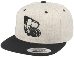 Biceps Heather Grey Snapback - Berzerk