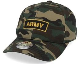 Army Insignia Camo Adjustable - Army Head