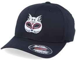 Cat Mask Black Flexfit - Calaveras