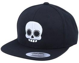 Cute Skull Black Snapback - Calaveras