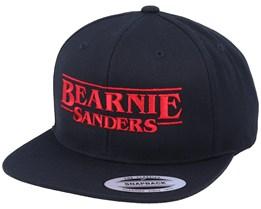 Stranger Bernie Black Snapback - Iconic