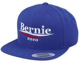 Bernie For President Royal Blue Snapback - Iconic
