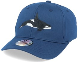 Paper Orca Navy Blue Adjustable - Origami