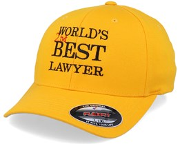 World's Best Lawyer Gold Flexfit - Scenes