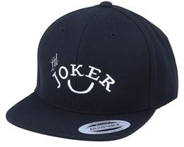 Kids Lil Joker Black Snapback - Kiddo Cap